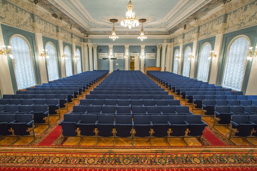 Октябрьский зал Дома Союзов