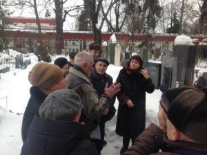 Посещение могилы Макаренко 13.03.2018